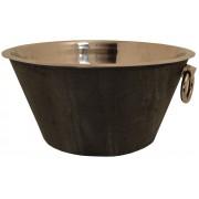 Stylish Large Metal Punch Bowl / Ice Bucket