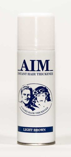AIM Cover Thickening Spray LIGHT BROWN