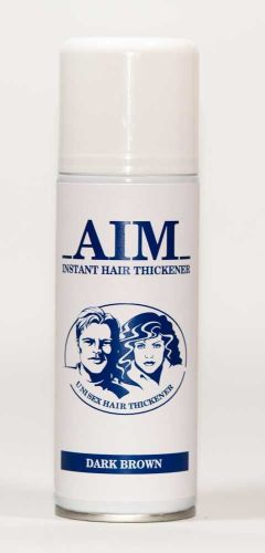 AIM Cover Thickening Spray DARK BROWN
