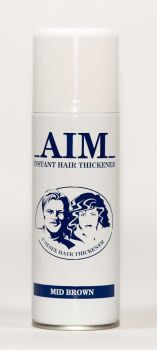 AIM Cover Thickening Spray MID BROWN