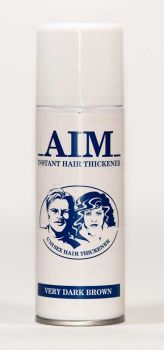AIM Cover Thickening Spray VERY DARK BROWN