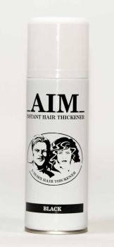 AIM Cover Thickening Spray BLACK