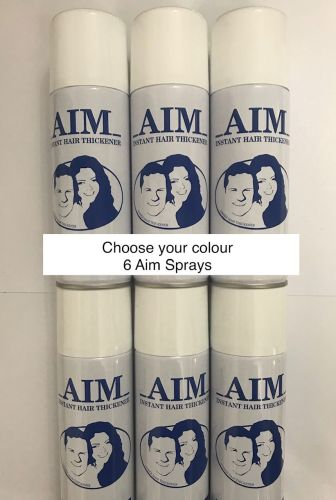 Special Offer of 6 cans of AIM Cover Thickening Spray  10% Discount