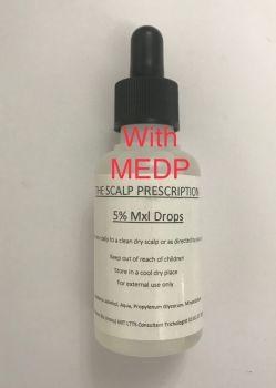 Minoxidil 5% + MEDP