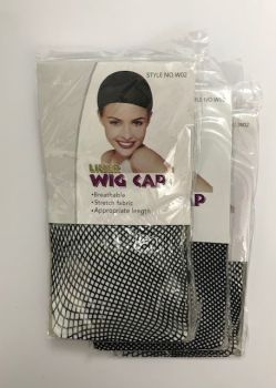 Wig Cap liner mesh pack of 3   Colour BLACK