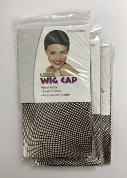 Wig Cap liner mesh pack of 3     Colour DARK BROWN