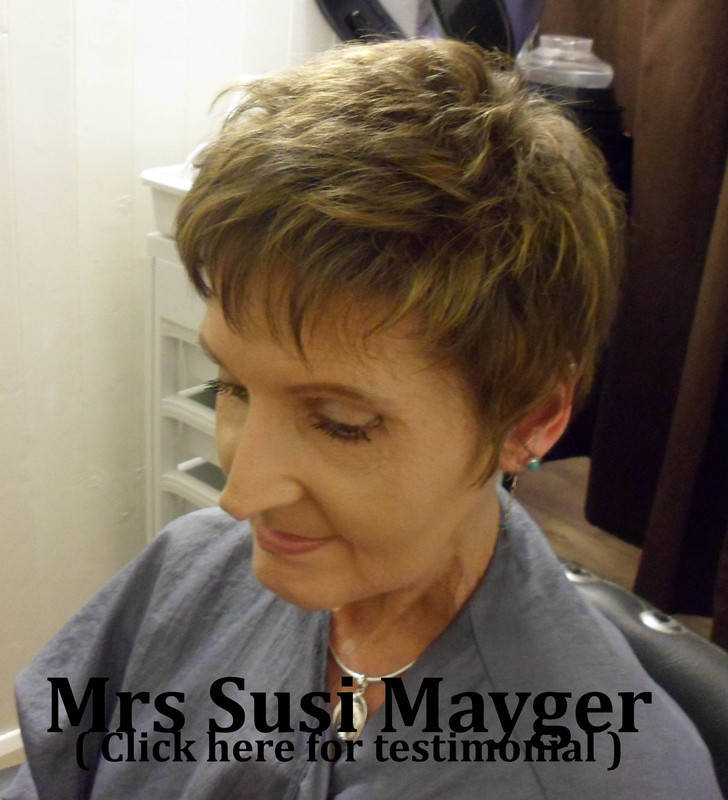 Susi Mayger at the Hair Loss and Scalp Clinic for Trichology