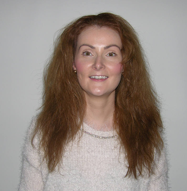 Jenny Haynes - Before Free from Frizz