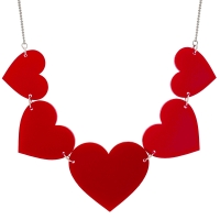 Alice Heart Necklace from Punky Pins