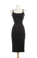 Pin Up Girl Clothing Jayne Dress - Black - SIZE SMALL ONLY