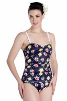 Hell Bunny Emma Swimsuit - Sizes XS & S