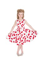 Hearts & Roses (London) 1950's Girls Cherry Dress