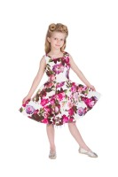 Hearts & Roses (London) 1950's Girls Vintage Style Audrey Dress in Floral