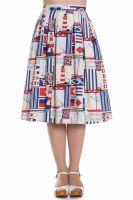 Hell Bunny Lighthouse Skirt