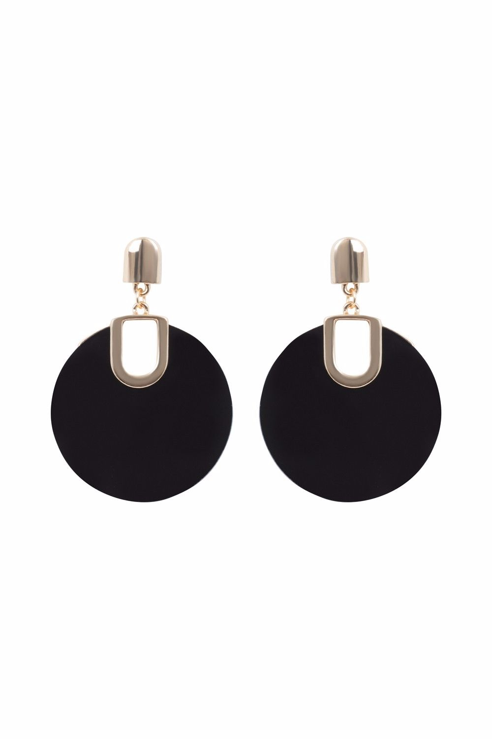 1960's Retro Disc Earrings
