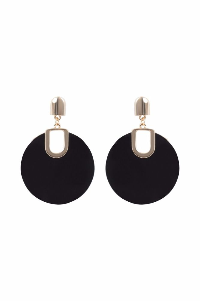 1960's Retro Disc Earrings