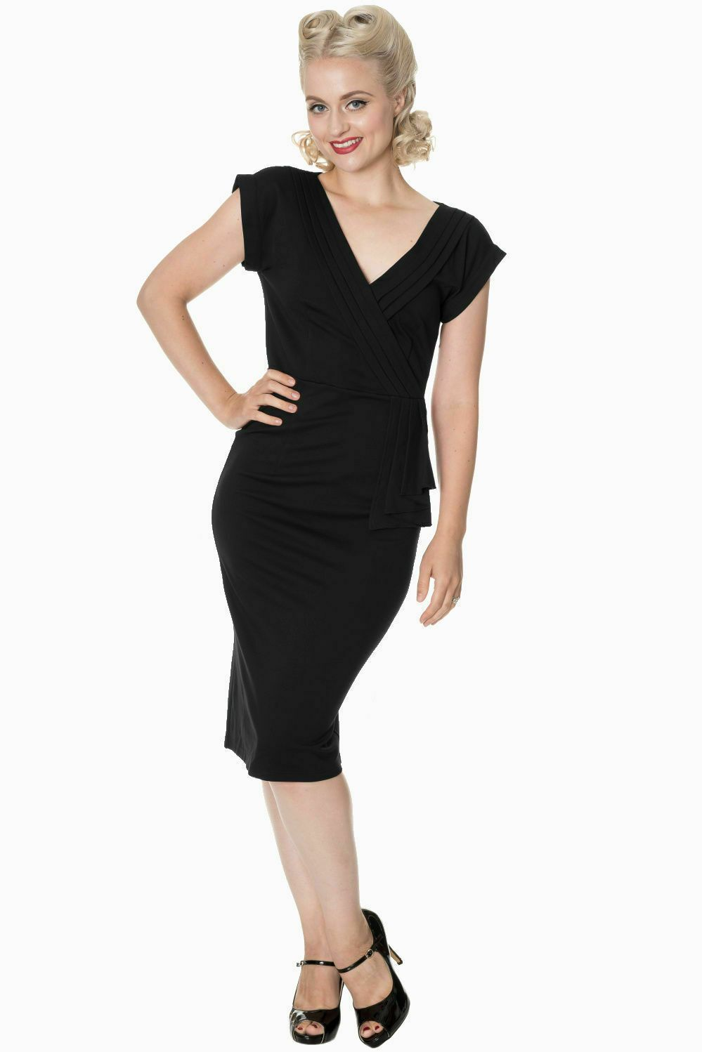 Dancing Days by Banned - Evening Chic Dress in Black - Size Small Only