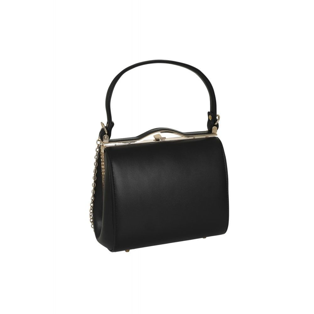 Vintage Style Carrie Bag in Classic Black