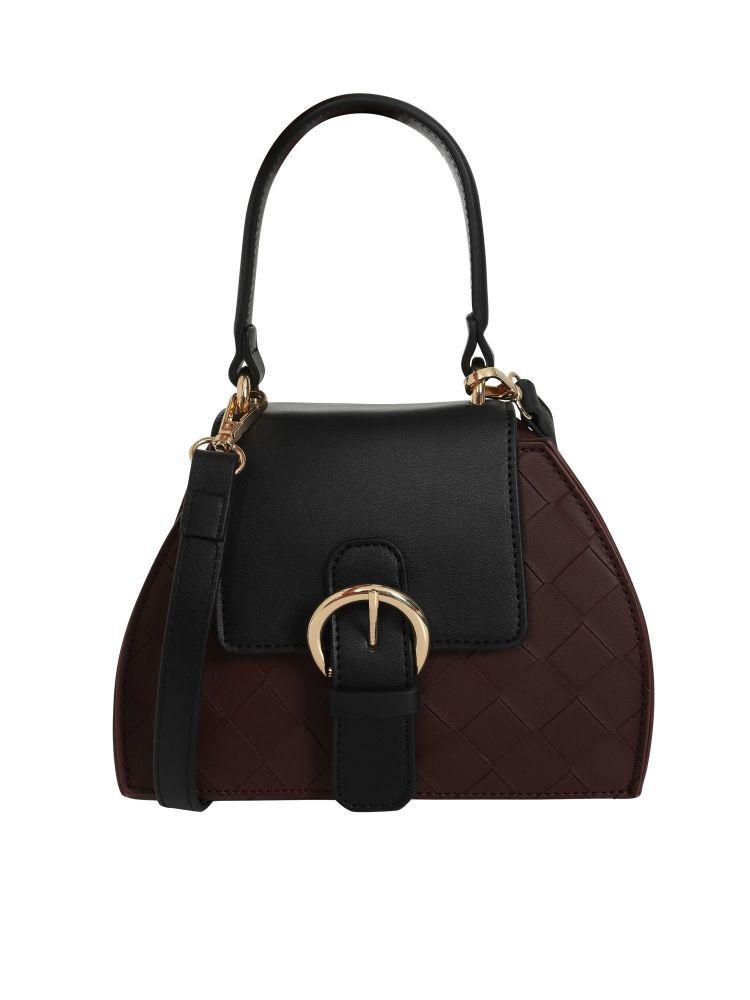 Vintage Style Cora Bag in Burgundy