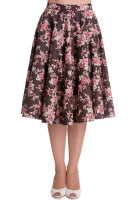 Hell Bunny 1950's style full circle Rosie skirt