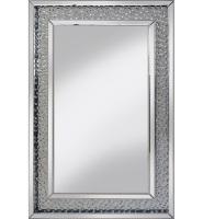 Floating Crystals Wall Mirror 90cm x 60cm Medium