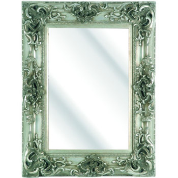 Rococo Core Silver Bevelled Wall Mirror 6 sizes