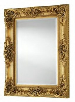 Rococo Core Gold Bevelled Wall Mirror 6 sizes