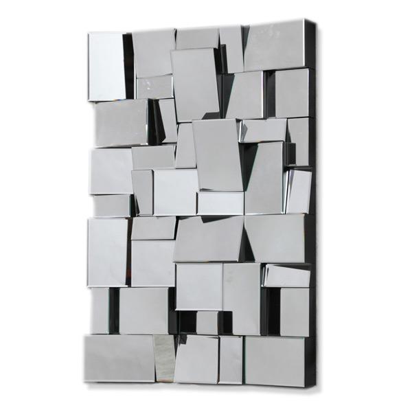 Multi Facet Bevelled Mirror 120cm x 80cm