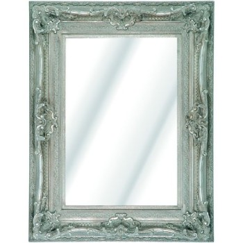 Rococo Diana Silver Bevelled Mirror 6 sizes