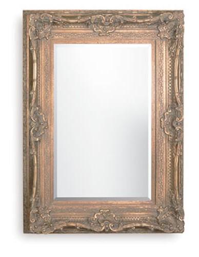 Rococo Diana Black Bevelled Mirror