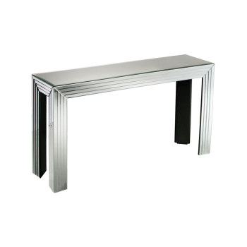Manhatten Mirrored Console Table