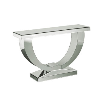 Orbit Mirrored Console Table