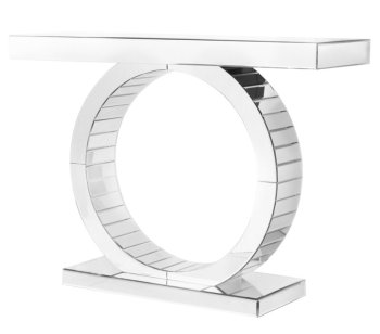 Guicci Mirrored Console Table