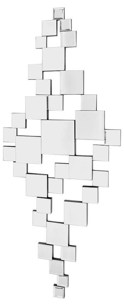Multi Facet Bevelled Mirror 113cm x 80cm