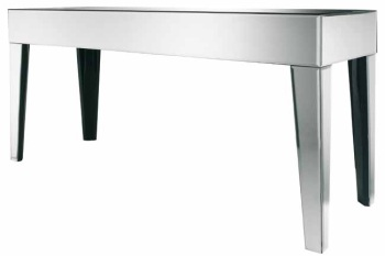 Leyla Mirrored Console Table
