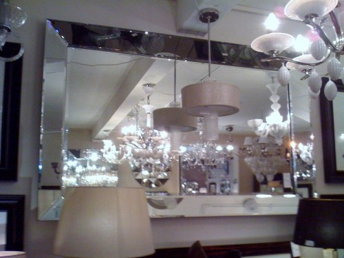 Extra Large Venetian Tray Silver Bevelled Mirror 190cm X 130cm