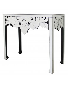 Elba Mirrored Console Table