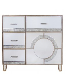 Gatsby 4 Draw / 1 Door Sideboard