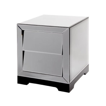 Alfa 2 Draw slanted Venetian Mirrored Chest