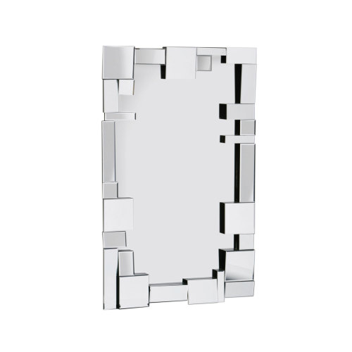 Multi Facet Dominoe Bevelled Mirror 120cm x 80cm