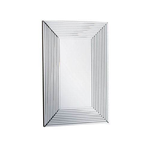 Manhatten Stepped  Bevelled Mirror 150cm x 80cm