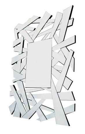 Multi Facet Shards Bevelled Mirror 120cm x 80cm