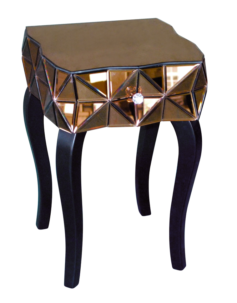 Bronze Lamp Table