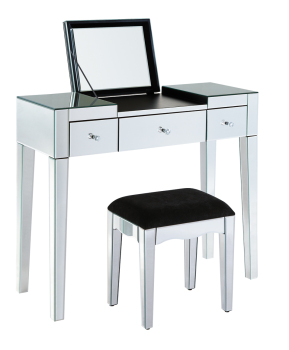 2 Draw Dressing Table + Mirror Package