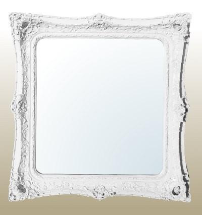 Rococo Ricci White shaped mirror 155cm x 167cm