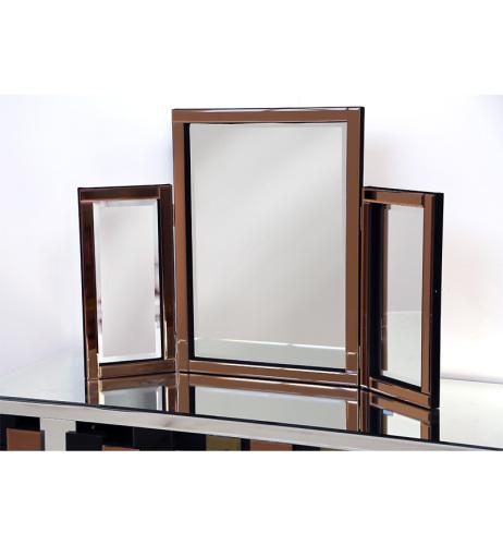 Bronze Tri Fold Mirror 78cm x 54cm