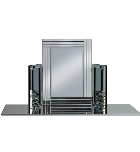Triple Band Tri Fold Mirror 78cm x 54cm