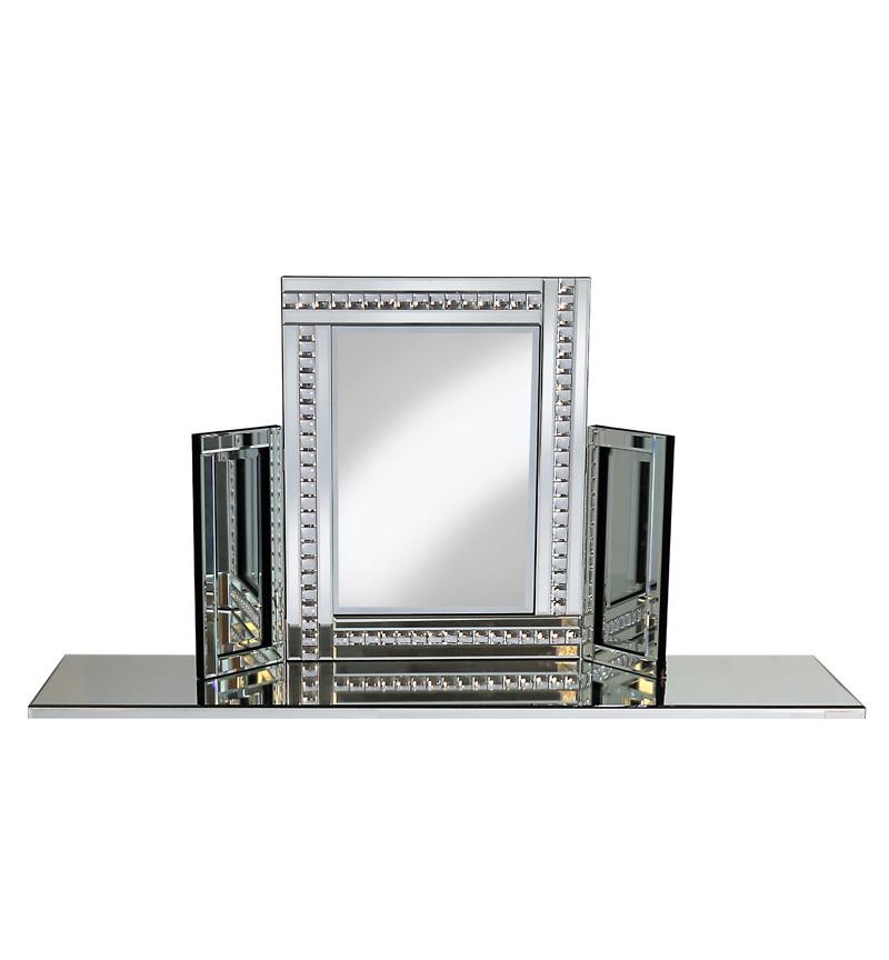 Jewel Tri Fold Mirror 78cm x 54cm