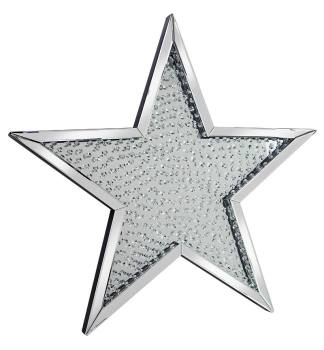 *Star Shaped Floating Crystals Mirror 94.5cm x 94.5cm