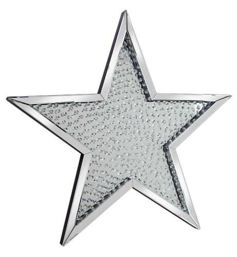 Star Shaped Floating crystals Mirror 94.5cm x 94.5cm
